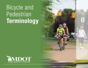 MDOT Bike Ped Glossary